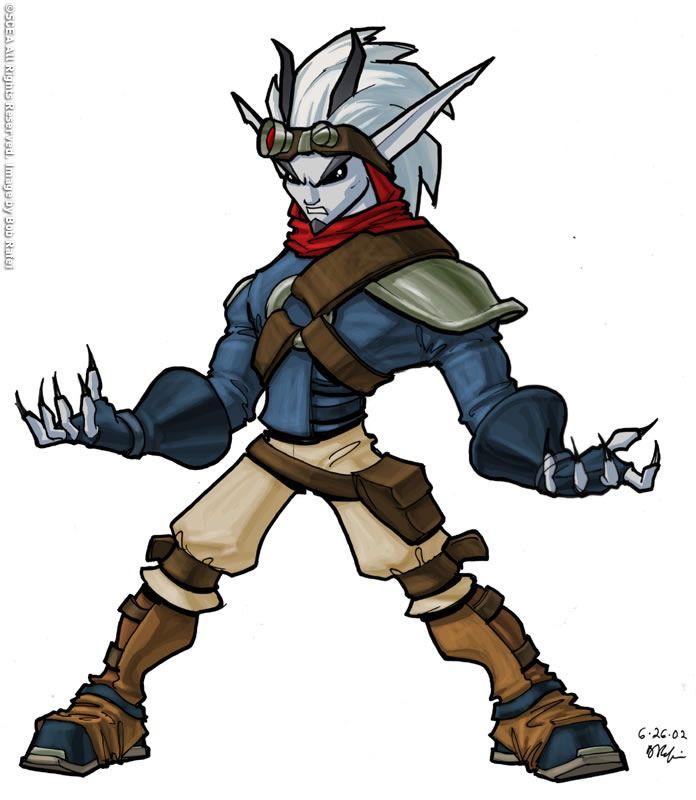 Bob Rafei Concept Art Illustration Jak Daxter Character Art Character Design