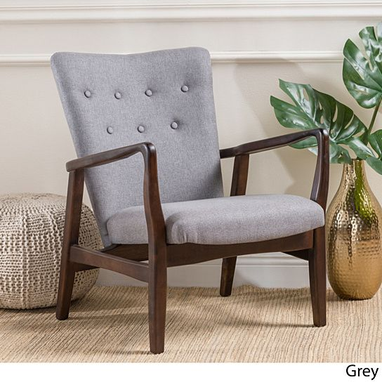 Suffolk French Style Fabric Arm Chair Upholstered Arm Chair