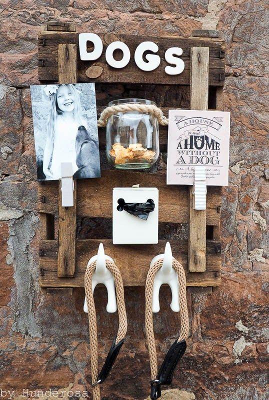 garderobe f r hunde selber machen diy basteln haustiere pinterest garderoben selber. Black Bedroom Furniture Sets. Home Design Ideas