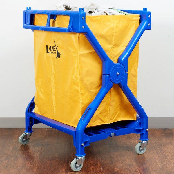 Lavex Lodging Commercial Laundry Cart Trash Cart In 2020