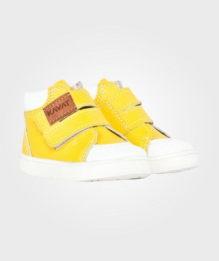 d9931f113e1 Kavat Fiskeby XC Yellow Yellow | Bebis | Shoes, Kids fashion och ...