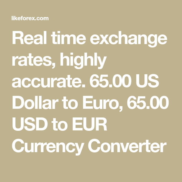 Real Time Exchange Rates Highly