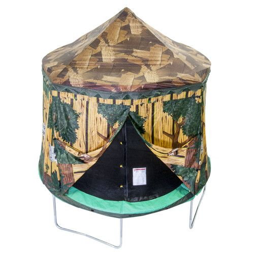 Jumpking 10 Enclosure Tree House Trampoline Cover Trampoline Tent Tree House Backyard Trampoline
