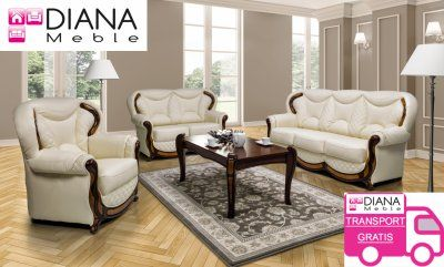Komplet Do Salonu Sorento 3r 1 1 Skora Dostawa 0zl 6198947719 Oficjalne Archiwum Allegro Home Decor Furniture Home