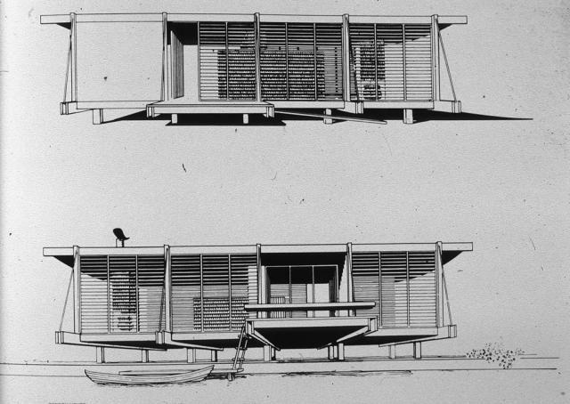 Resultado de imagen para paul rudolph cocoon house plan