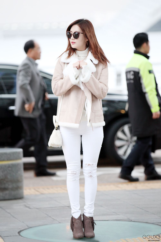 SNSD Seohyun Airport Fashion 151210 2015