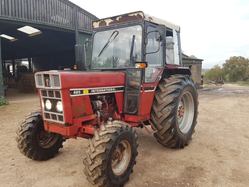 International Tractor 584 Tractor GWO 5000 Genuine Hours 1 Owner