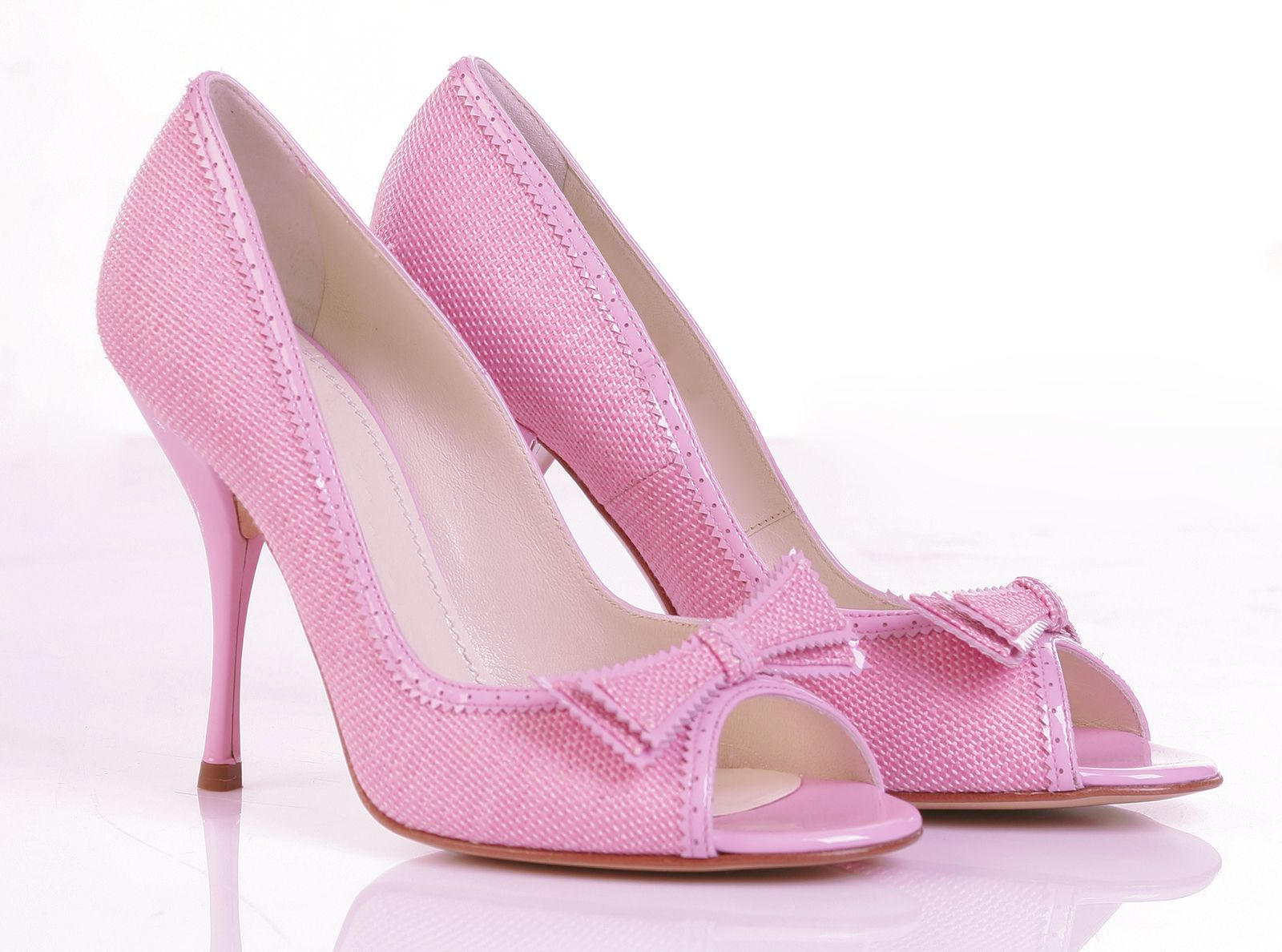 Pink Shoes For Girls High Heels