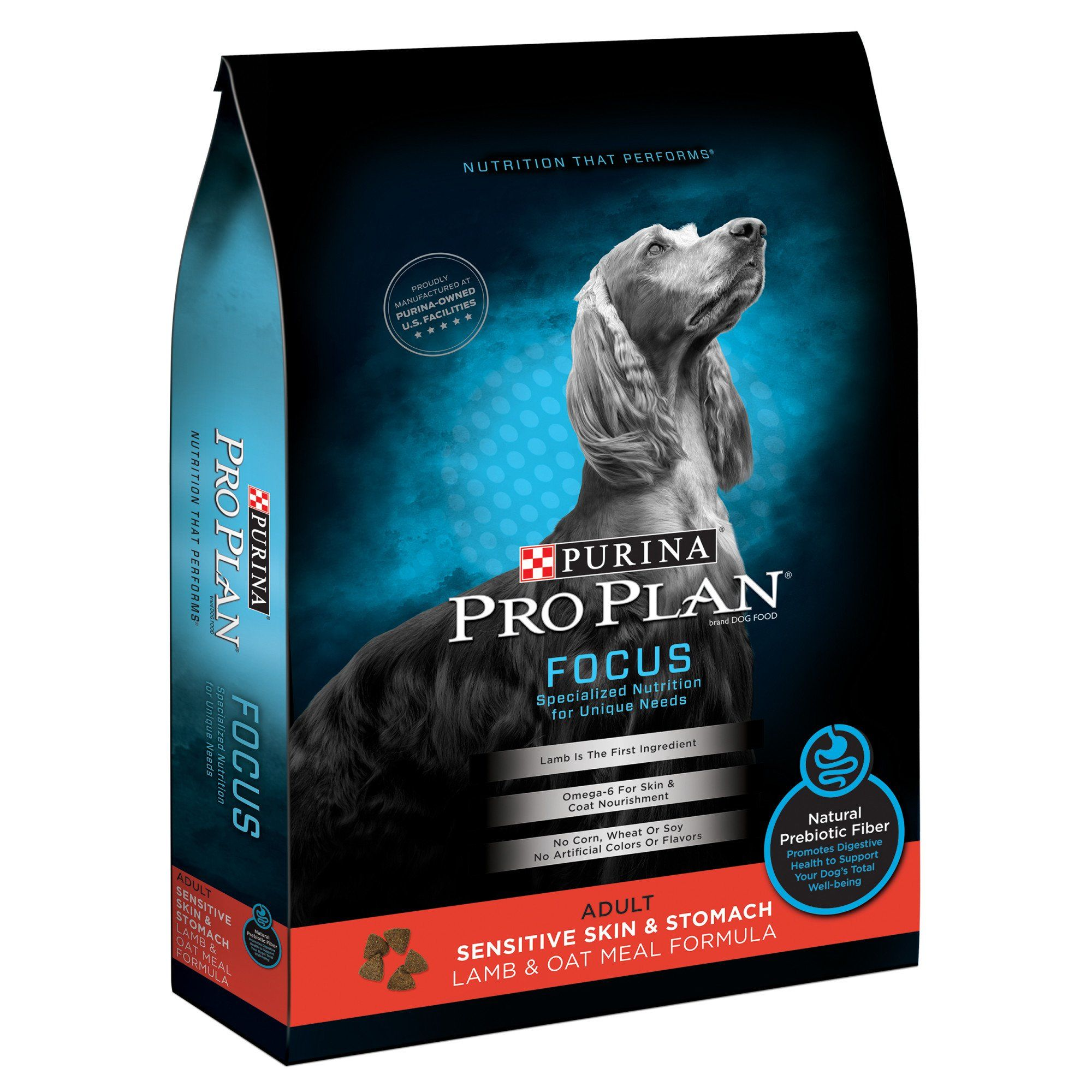 Purina Pro Plan Focus Sensitive Skin Stomach Lamb Oat Meal