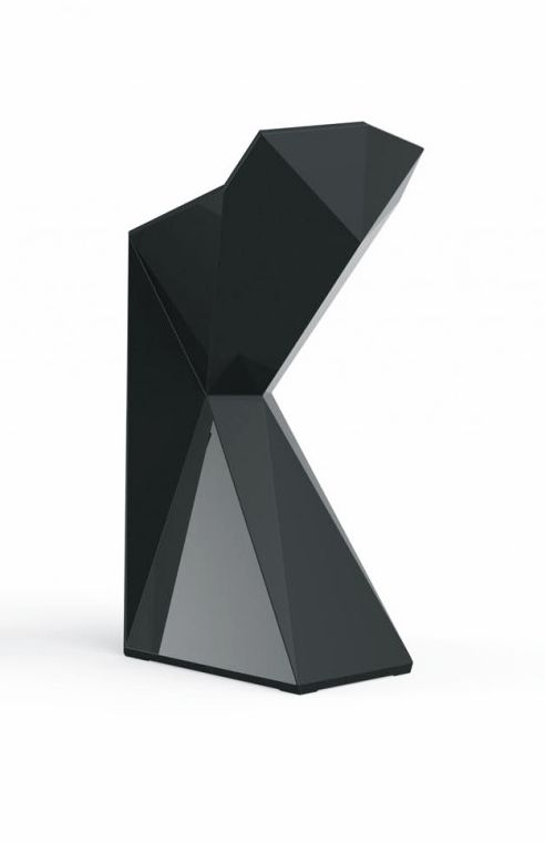 Karim Rashid For Vondom Vertex Bar Stool Black