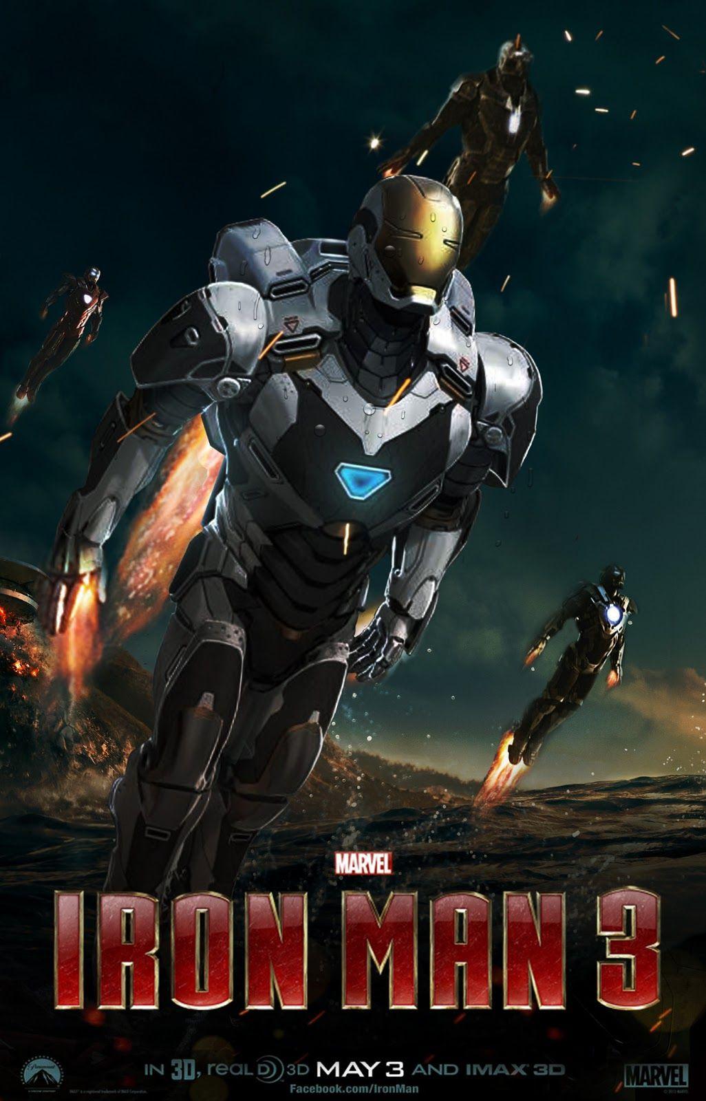 Iron Man 3 The Movie Posters Comic Heroes Art Iron Man 3 Iron Man