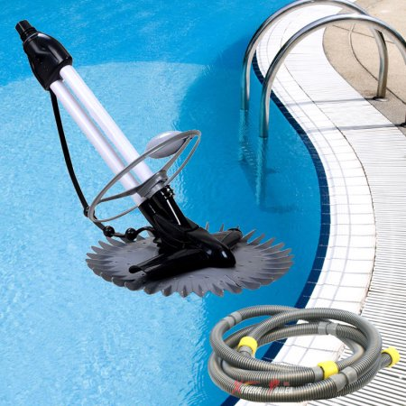 XtremepowerUS Automatic Pool Cleaner Stingray, In/Aboveground, Black ...