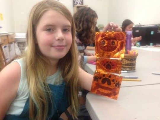 Painting and Mixed Media Collage Workshop Palo Alto, California  #Kids #Events