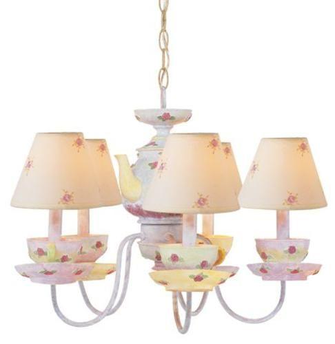 Patriot Lighting Tea Cup 5 Light 16 Chandelier
