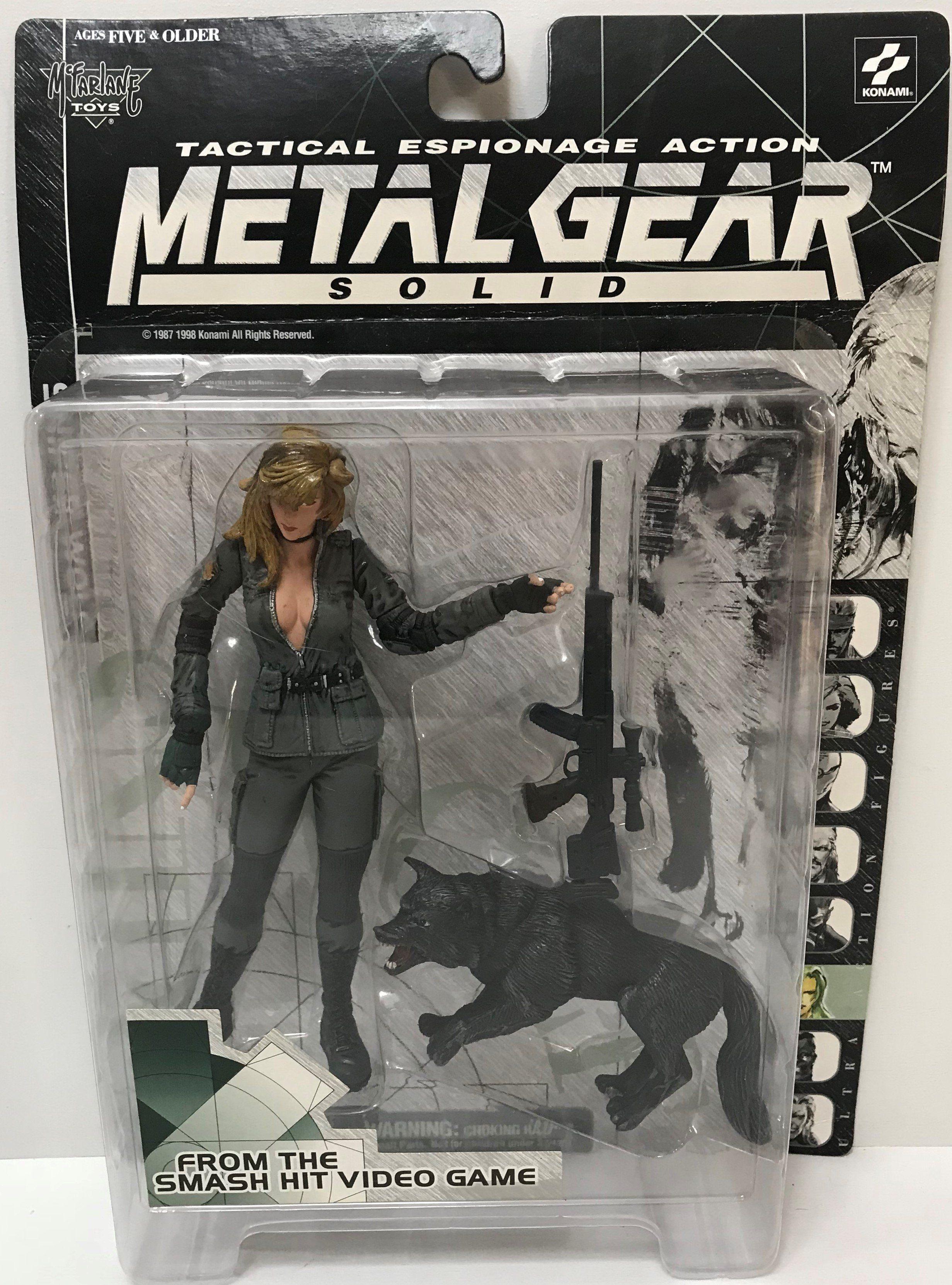 Tas038950 1998 Mcfarlane Toys Metal Gear Solid Sniper Wolf