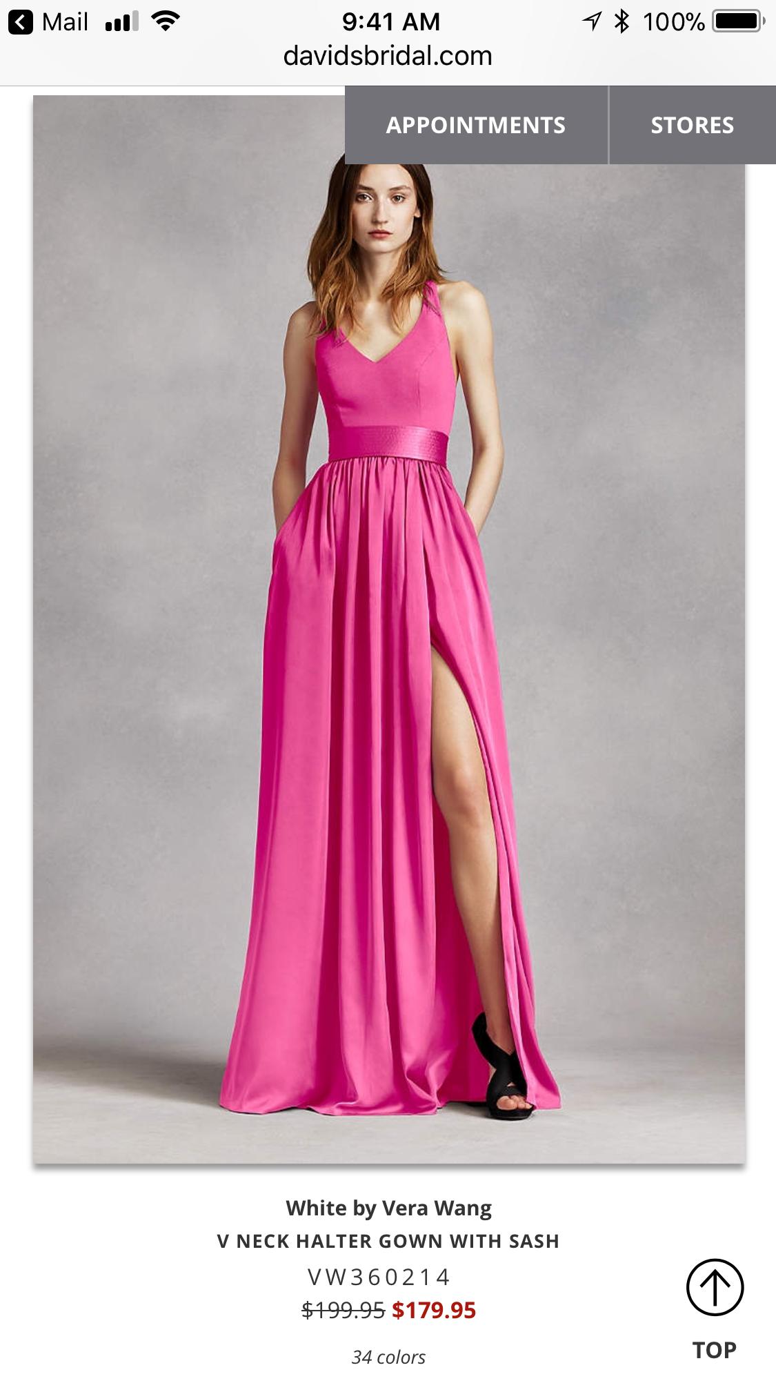 Bonito Vestido De Novia Vera Wang Playa Cresta - Colección de ...