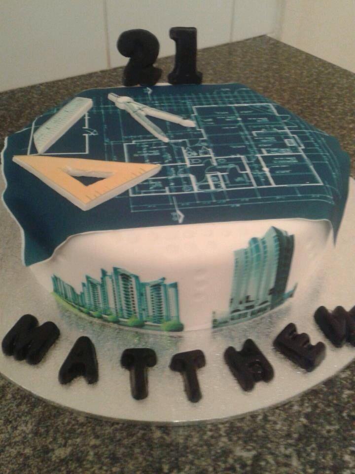 Architect Cake Fondant Pinterest Architects Cakes