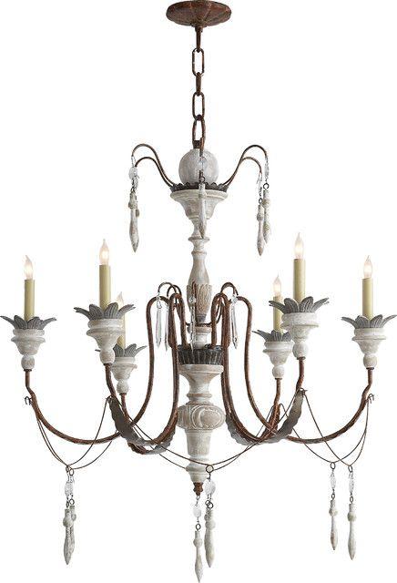 Fine white wooden chandelier the elegant wooden chandelier fine white wooden chandelier aloadofball Gallery