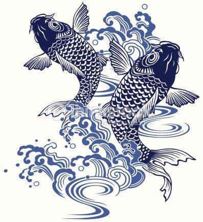 Koi Carp Traditional Japanese Art Google Search Japanese Art Koi Art Japan Art