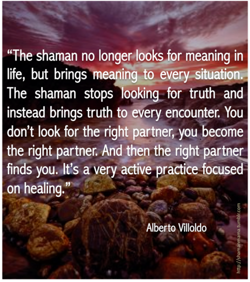 The Shaman No Longer Looks For Meaning In Life But Brings Meaning To Every Situation The Shaman Stops Looking For T Shamanic Journey Shaman Shamanic Healing