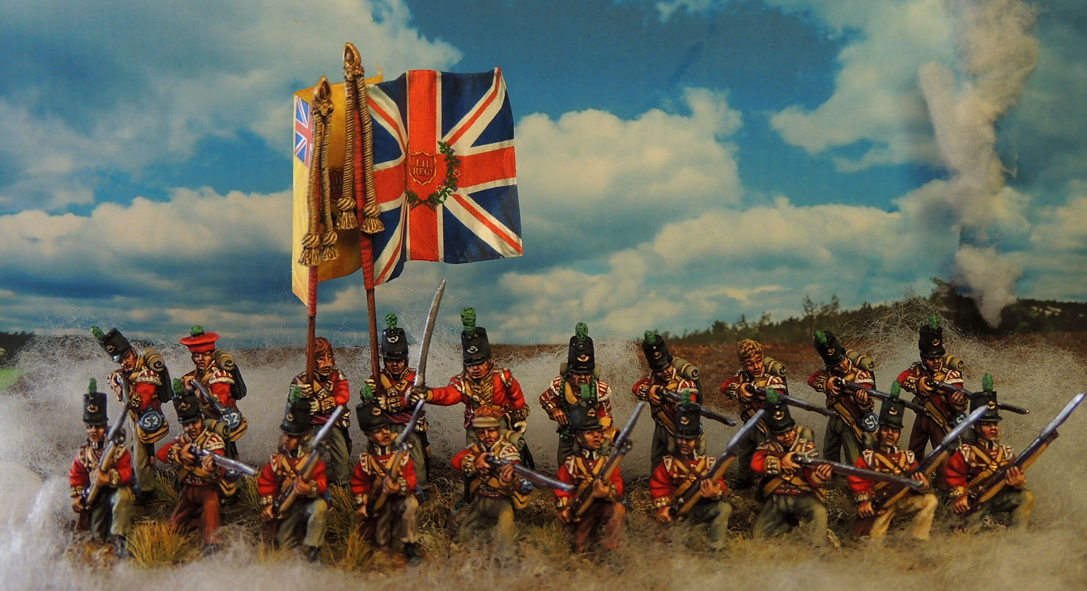 52nd british light infantry Painted by Francesco Thau