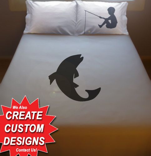 Bass Fishing Bedding Sets.Boy Fishing Bedding Fish Duvet Cover Queen King Twin Size