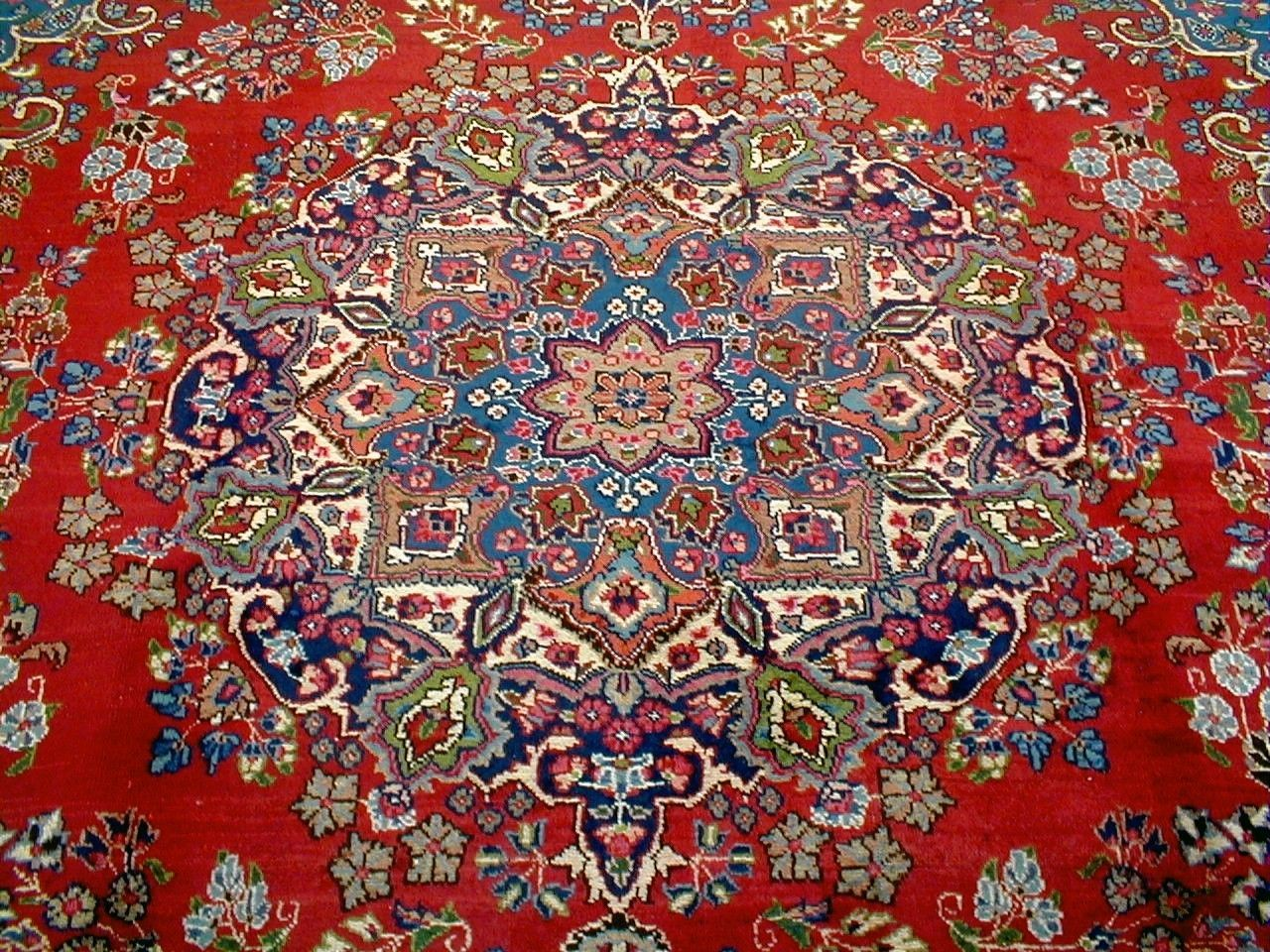 10x13 1940 S Magnificent Fine Hand Knotted 70 Yrs Antq Wool Khorasan Persian Rug