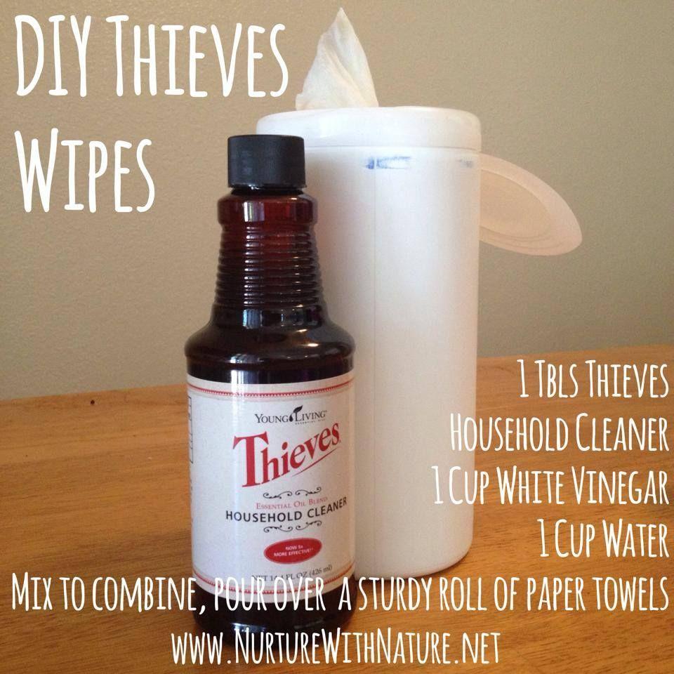 Diy wipes living essentials oils essential oils