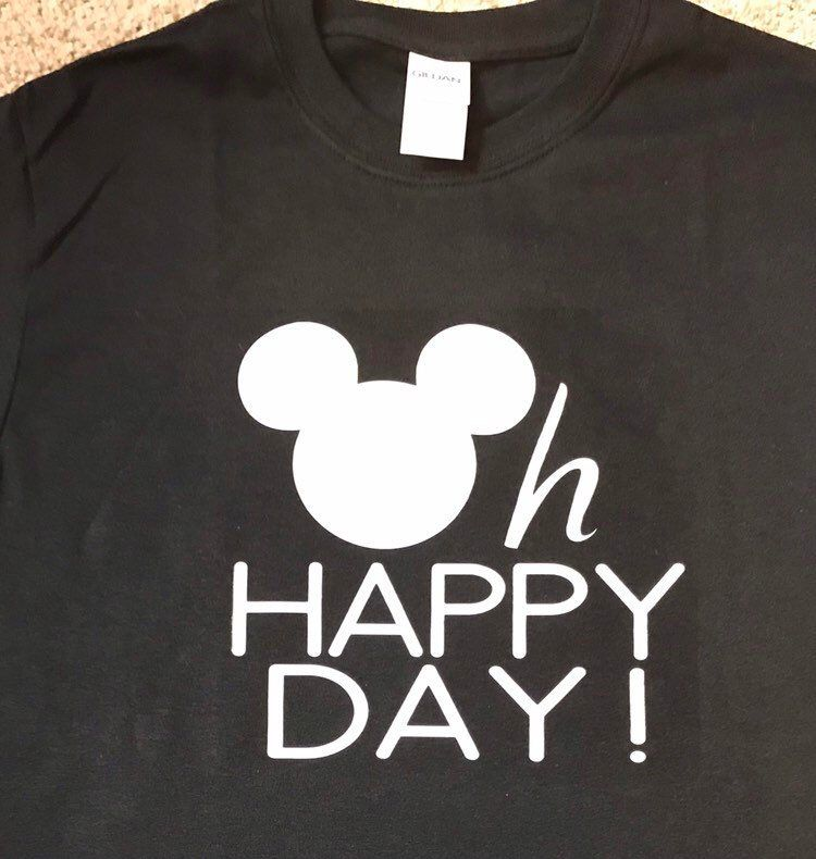 7932d3cc6 Excited to share the latest addition to my #etsy shop: Custom Disney Family  Shirts, Oh Happy Day #clothing #shirt #crew #athletic #shortsleeve #mickey  ...