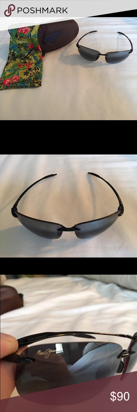 Maui Jim sport line sunglasses Brand new, includes hard shell case and soft fabric bag Maui Jim Accessories Sunglasses