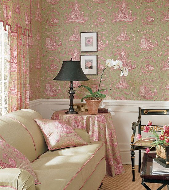Thibaut Wallpaper Historic Homes Vol VII Collection