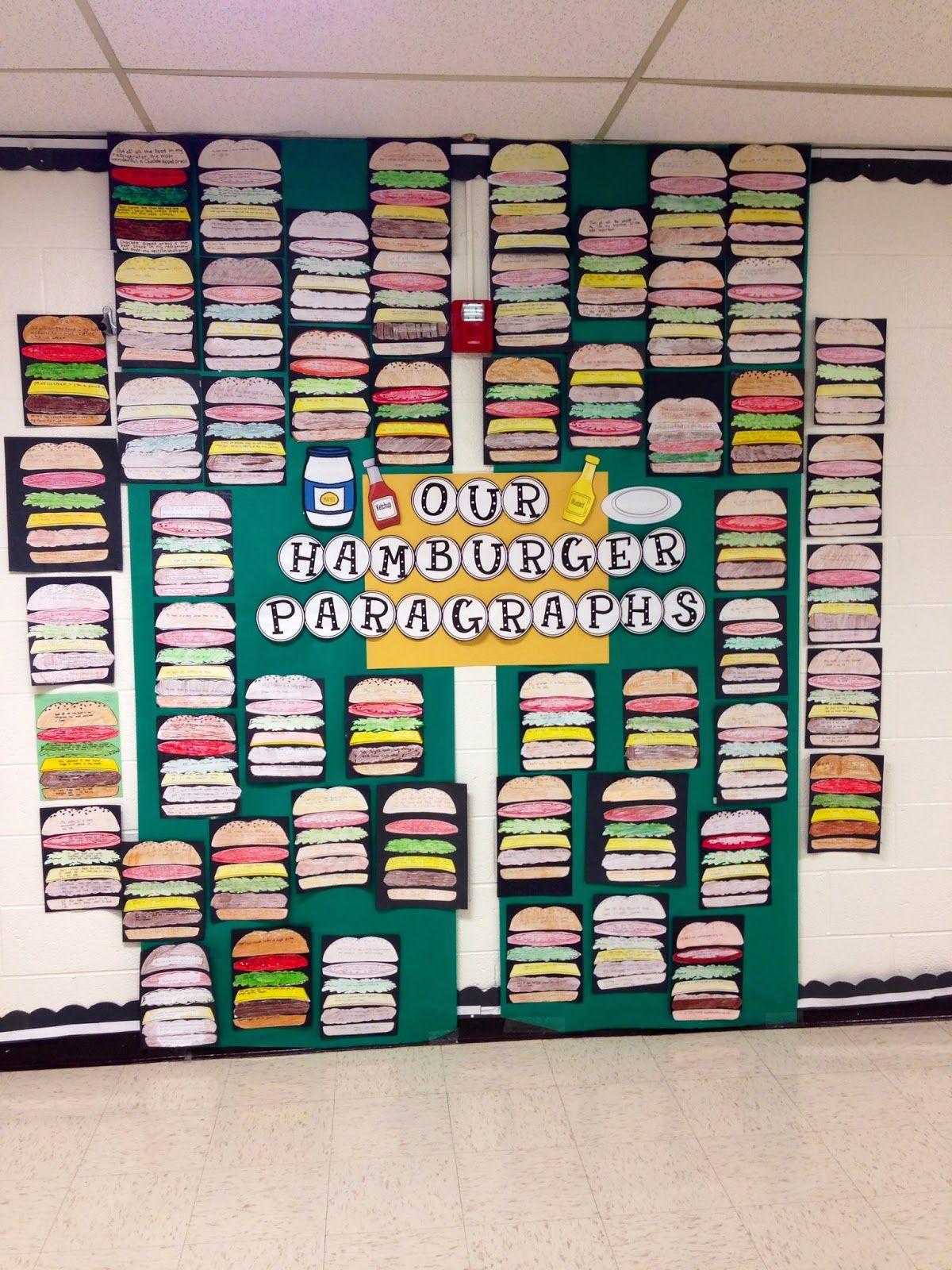 All For The Love Of Teaching Hamburger Paragraphs