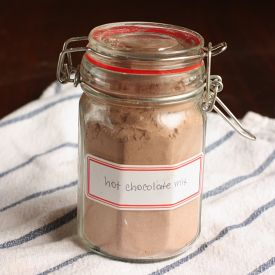 """Spiced hot chocolate mix that makes you raise your eyebrows and say, """"Ooh."""" Vegan, GF."""