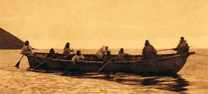 Inuit Umiak Early C20th