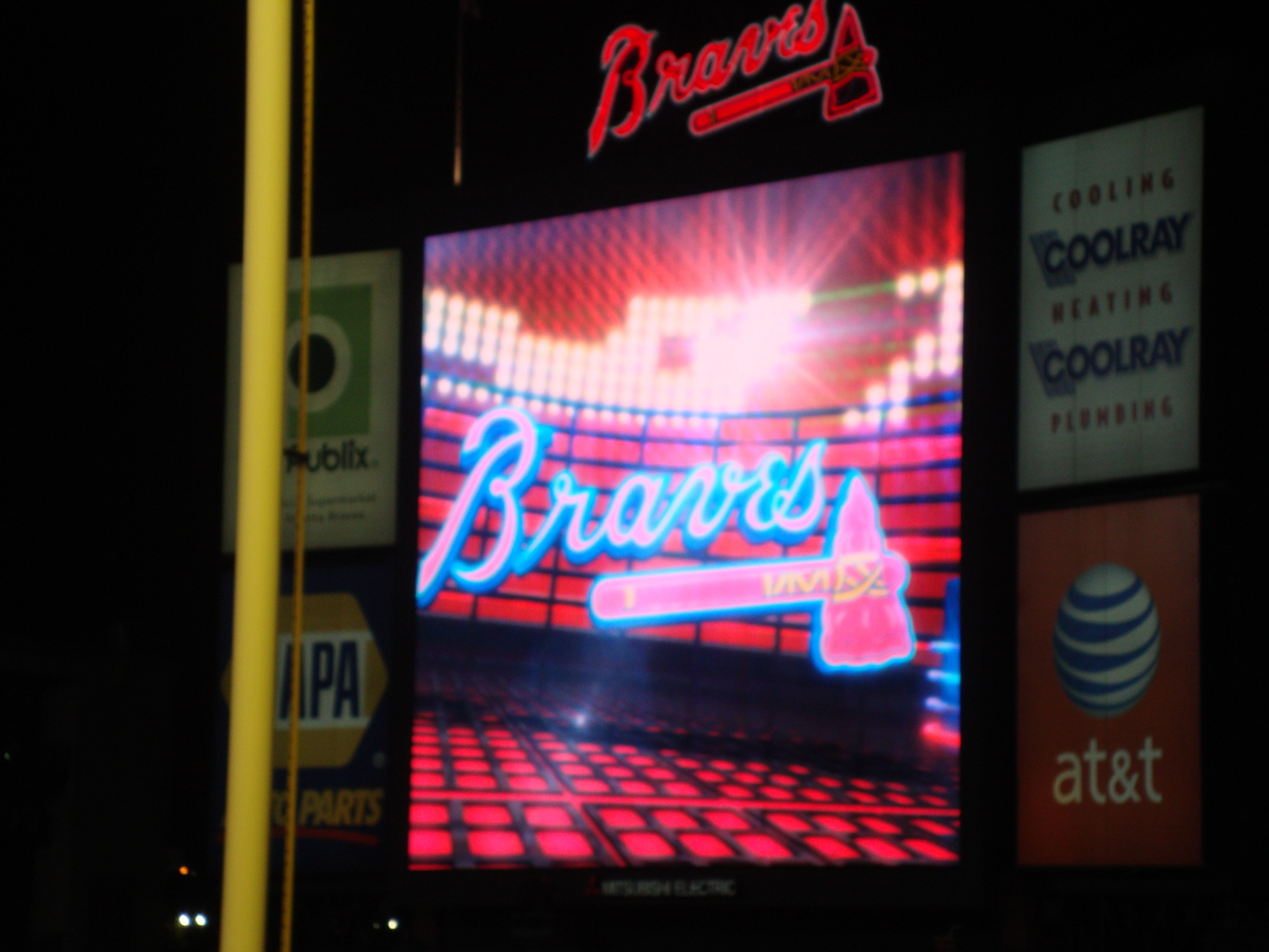 Braves Game Braves Game Neon Signs Broadway Shows