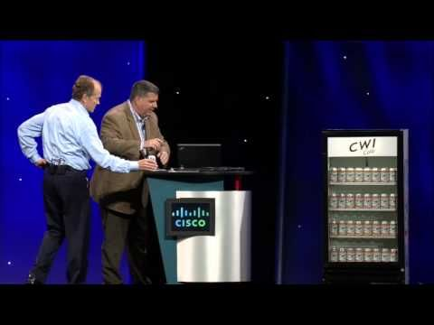 ▶ Cisco Live US 2013 Keynote Demo: Internet of Everything - YouTube