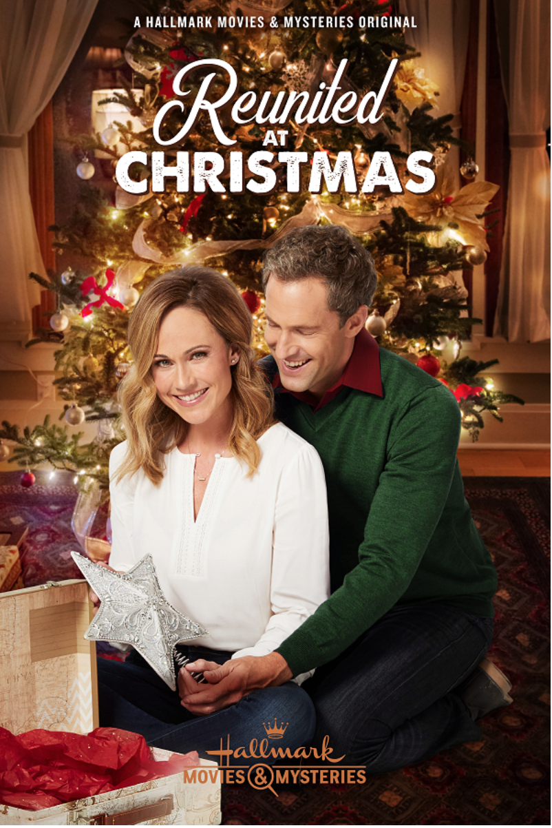 Reunited At Christmas 2018 With Nikki Deloach Mike Faiola Hallmark Channel Christmas Movies Hallmark Movies Christmas Movies