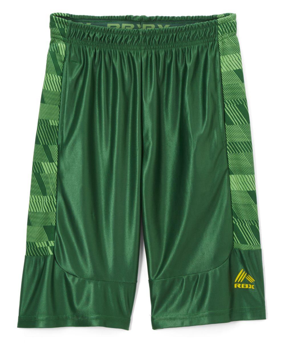 cc6686ff3e1 Hunter Green Striker Active Shorts - Boys