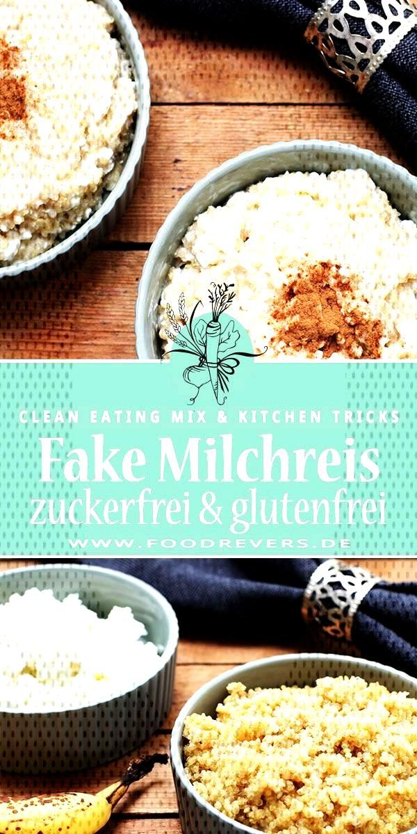False fake rice pudding - The quinoa milk pot -  Fake rice pudding with quinoa recipe. Healthy, glu