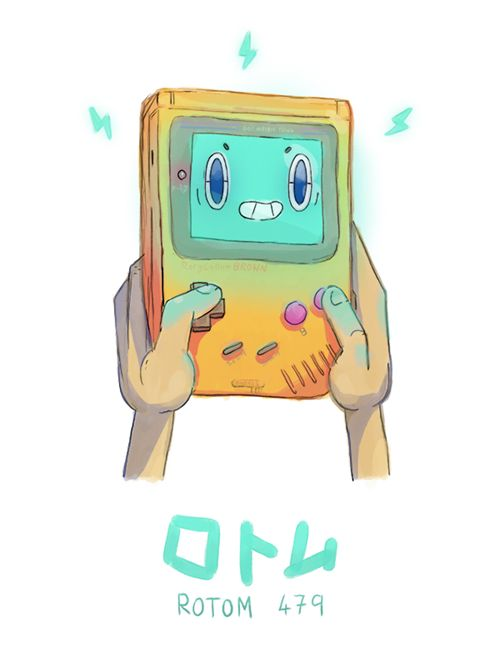Gameboy Rotom http://chzb.gr/1ECjRtb<<< good old childhood game, cannot forget the day I get a gameboy.