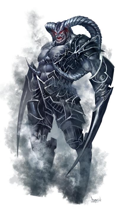 Paizo Shadow Monster By Faroldjo On Deviantart Shadow Monster Fantasy Monster Creature Artwork
