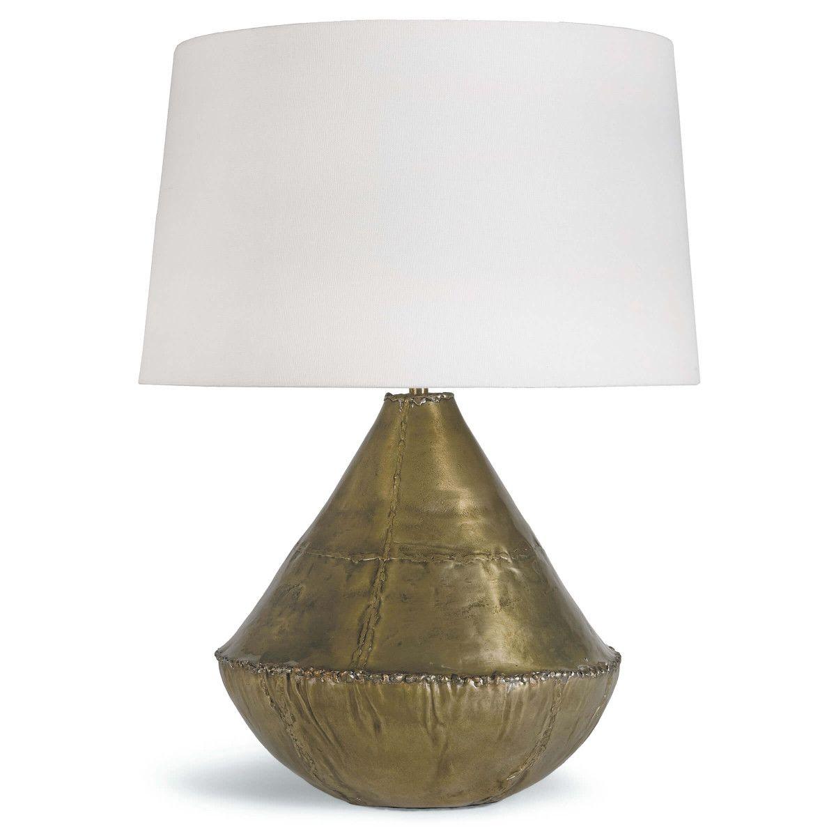 Modern Brass Table Lamp via Redo Home and Design | l i g h t i n g ...