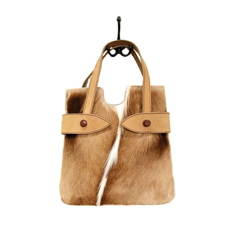 c7ccf010456c 60s Exotic Fur Handbag
