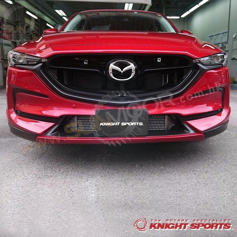 2017 Cx 5 Kf Knightsports Front Bumper With Grill Cover Aero Kit Sun Vigor Online Grill Cover Bumpers Cover