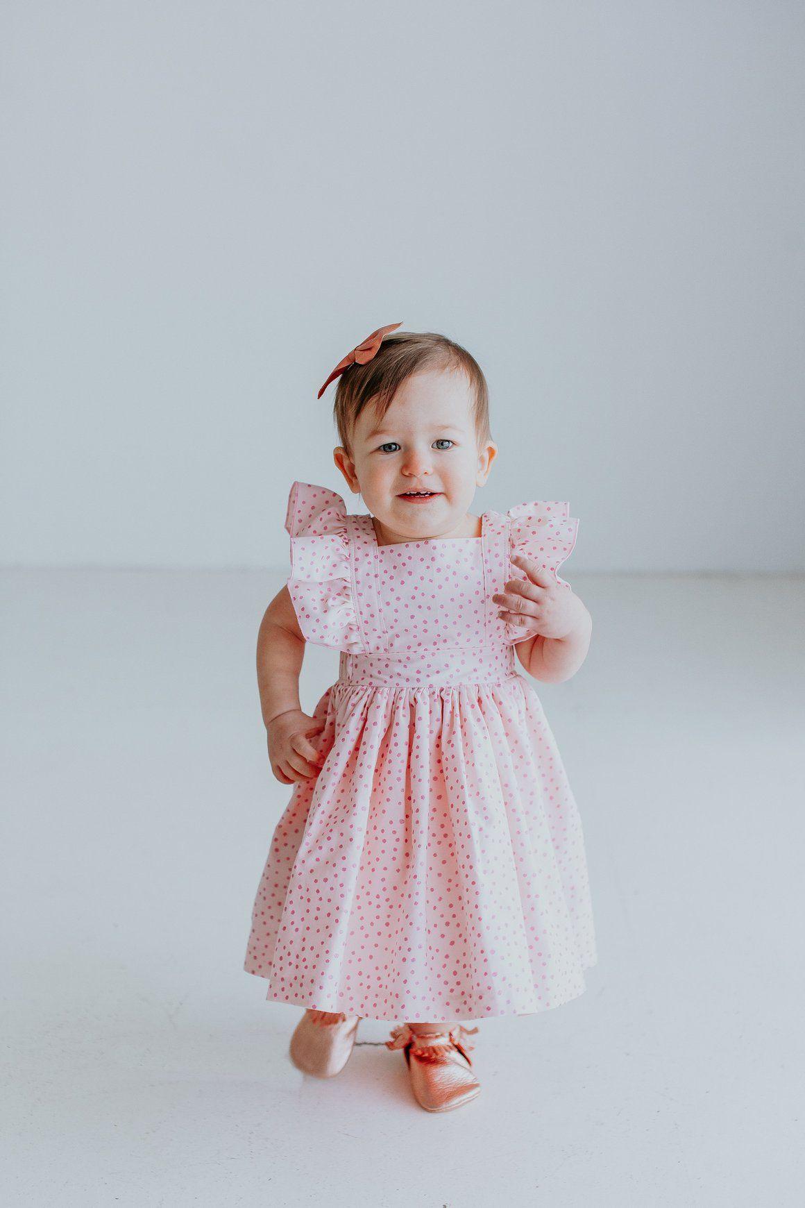 Eloise Pinafore Dress | Polka dot party dresses, Polka dot party and ...