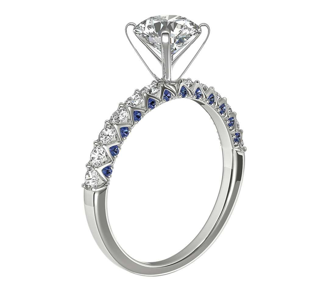 Pin By Steph Janeczek On Wedding Ideas In 2020 Sapphire Engagement Ring Blue Kirk Kara Engagement Rings Shop Engagement Rings