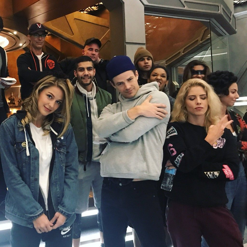 Flash Arrow Supergirl And Legends Of Tomorrow Supergirl And