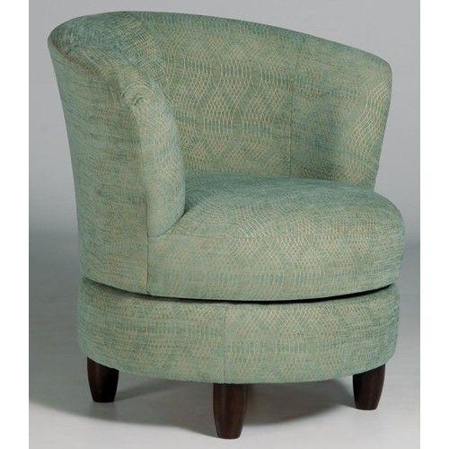 Swivel Barrel Palmona Swivel Barrel Chair With