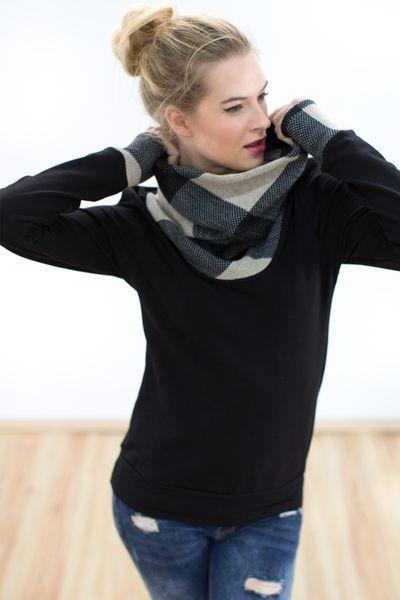 Sweatshirts - Pullover Notting Hill in schwarz - ein Designerstück von Shoko bei DaWanda