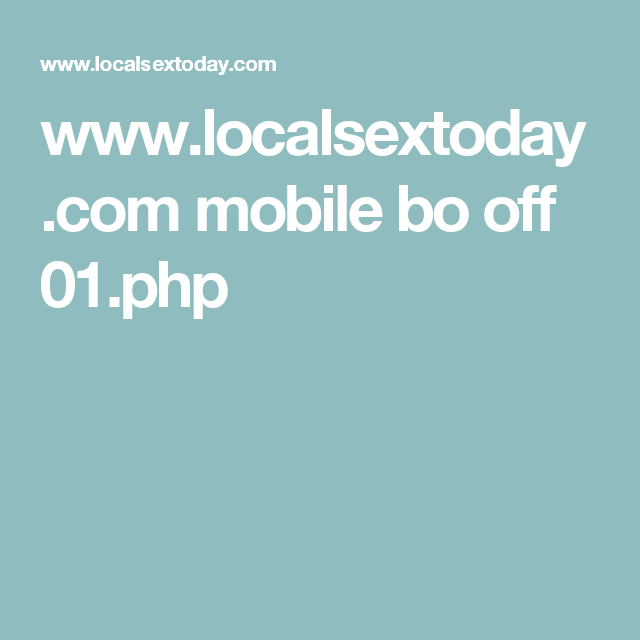 Localsextoday com